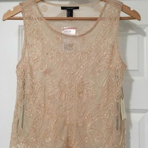 NEW! Forever 21 - Beaded Top